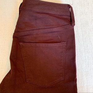 Mossimo Supply Co. Jeans - Maroon Mossimo High Rise Skinny